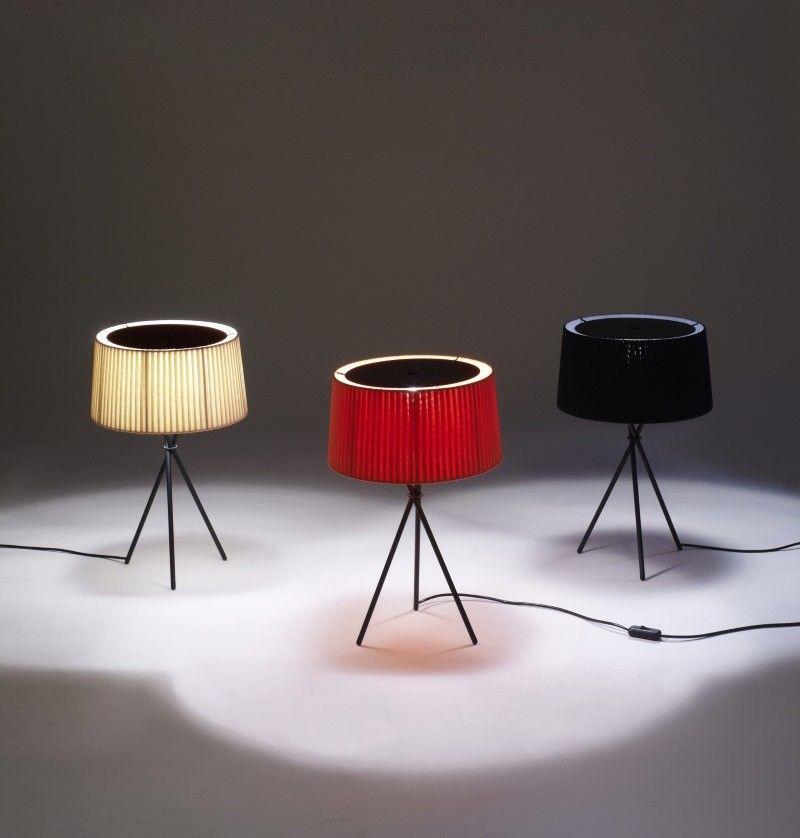 Einrichten Design De tripode m3 le de table santa cole einrichten design de
