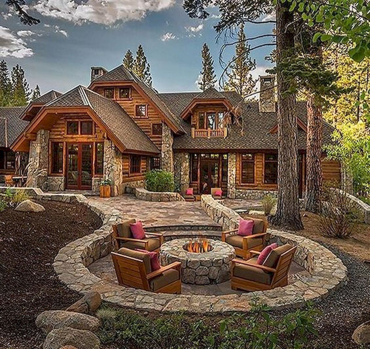 Home Design Ideas Outside: 75 Best Log Cabin Homes Plans Design Ideas (10