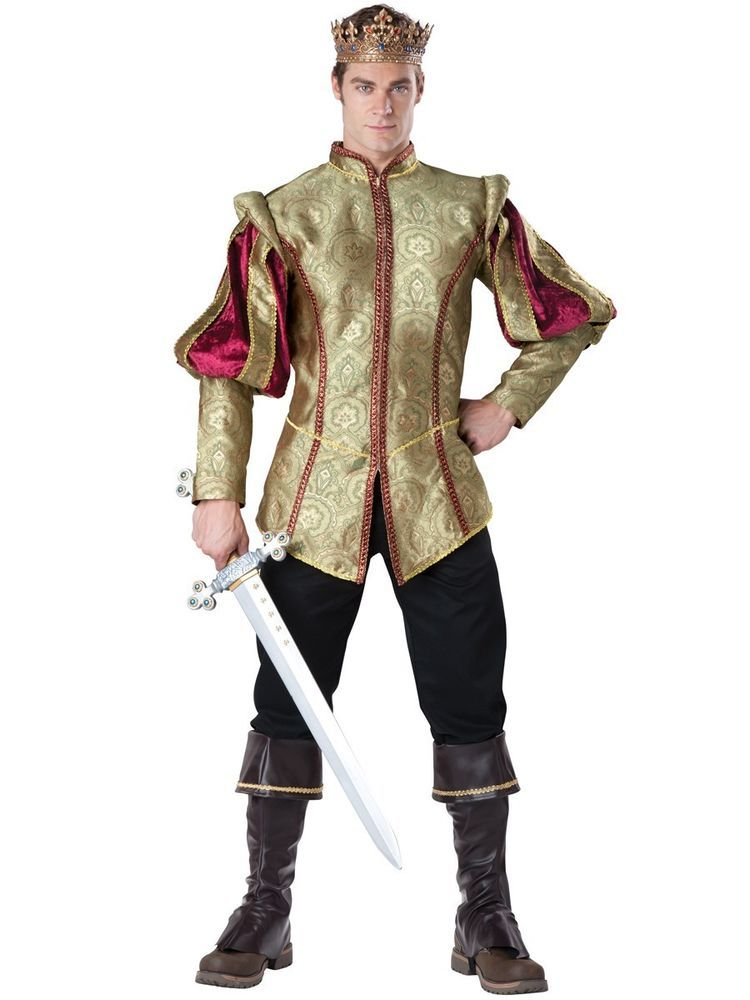 BRAND NEW RENAISSANCE PRINCE (SIZE M) ROYAL KING ADULT MENS