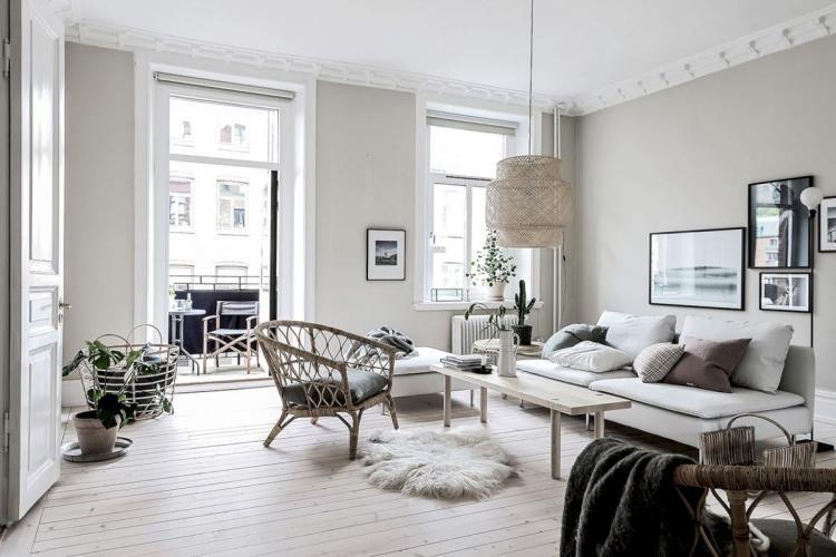 Resultado de imagen de nordic decor living room