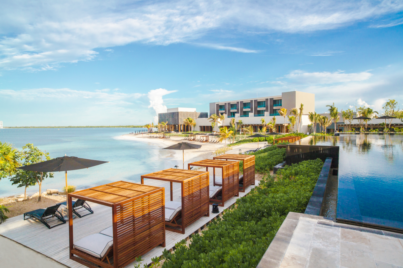 This luxury resort and spa offers guests an insanely memorable stay with highly customized service alongside crystal clear waters and