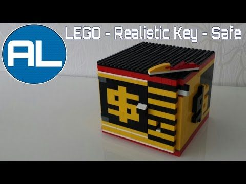 LEGO - Safe [REALISTIC KEY MECHANISM] with Tutorial