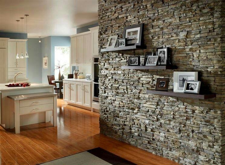 modèle décoration interieur maison pierre