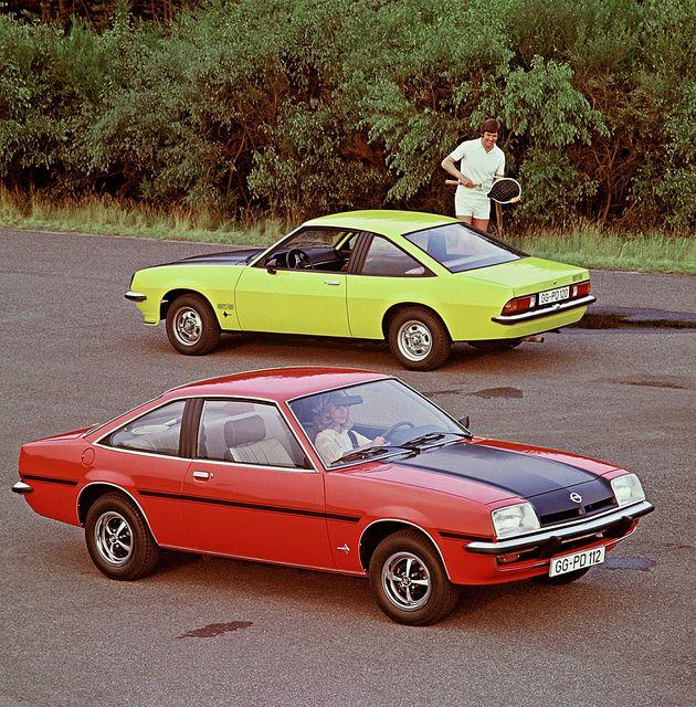 Opel Manta, Vintage Sports Cars, Classic Cars
