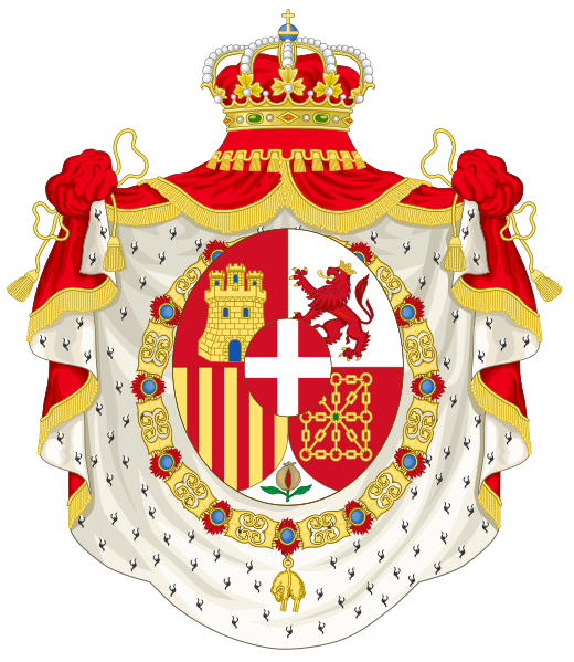 Coat Of Arms Of King Amadeo Of Spain 1871 1873 Heraldy Symbols