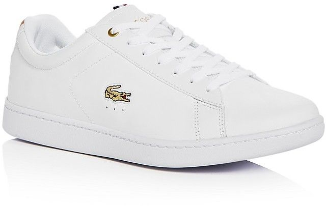 7b84ee5aa Lacoste Men's Carnaby Leather Lace Up Sneakers. Now $99.95 http://shopstyle.