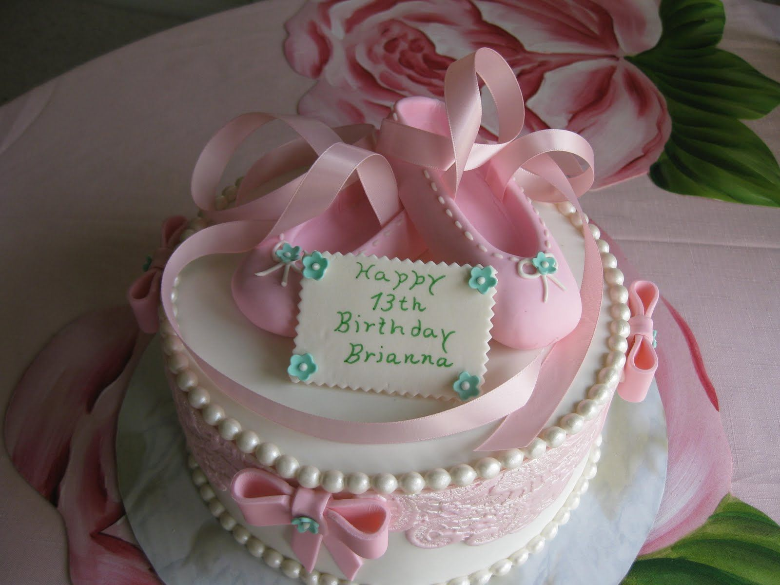 beautiful cakes for girl baby showers fondant cake for a little