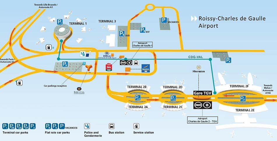 Airports Of Paris Roissy Charles De Gaulle Airport