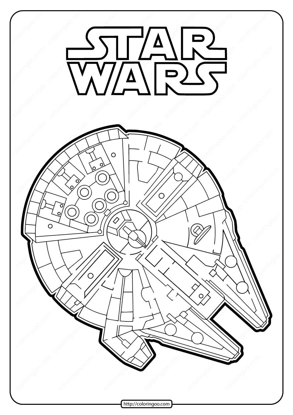 Star Wars Millenium Falcon Coloring Pages Star Wars Coloring Sheet Star Wars Painting Cute Coloring Pages