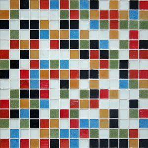 JUBILEE BLEND - Kaleidoscope 20mm Vitreous Glass Mosaic Tile