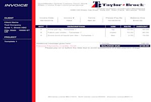 Umerjamsa I Will Design Quickbooks Desktop Custom Invoice Template For 25 On Fiverr Com Book Design Layout Invoice Template Branding Services