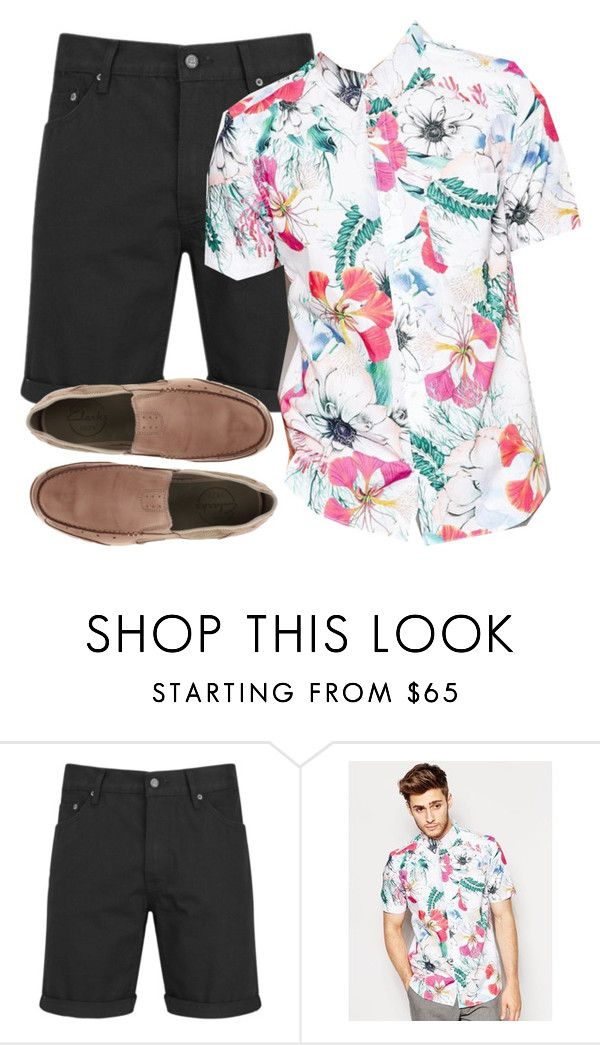 """""""Hanna Marin inspired outfit for men"""" by liarsstyle ❤ liked on Polyvore featuring Cheap Monday, French Connection, Clarks, mens, men, men's wear, mens wear, male, mens clothing and mens fashion"""