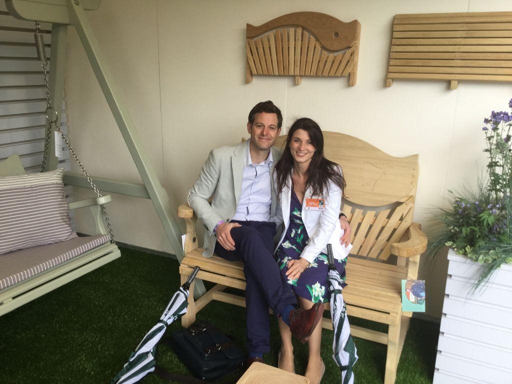 Countryfile & The One Show Presenter Matt Baker & wife on