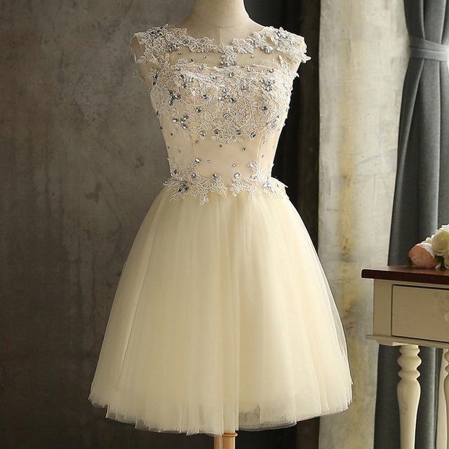 0486efd349d GACVGA Bohemian Elegant Lace Diamond Summer Dress Sleeveless Lovely ...