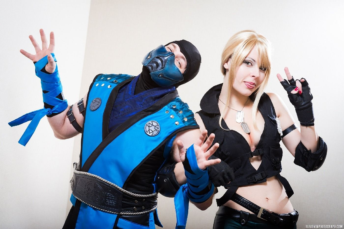 mortal kombat sonya and sub zero cosplay | × Video Game ...