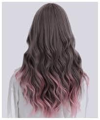 cabello rosa puntas - Buscar con Google