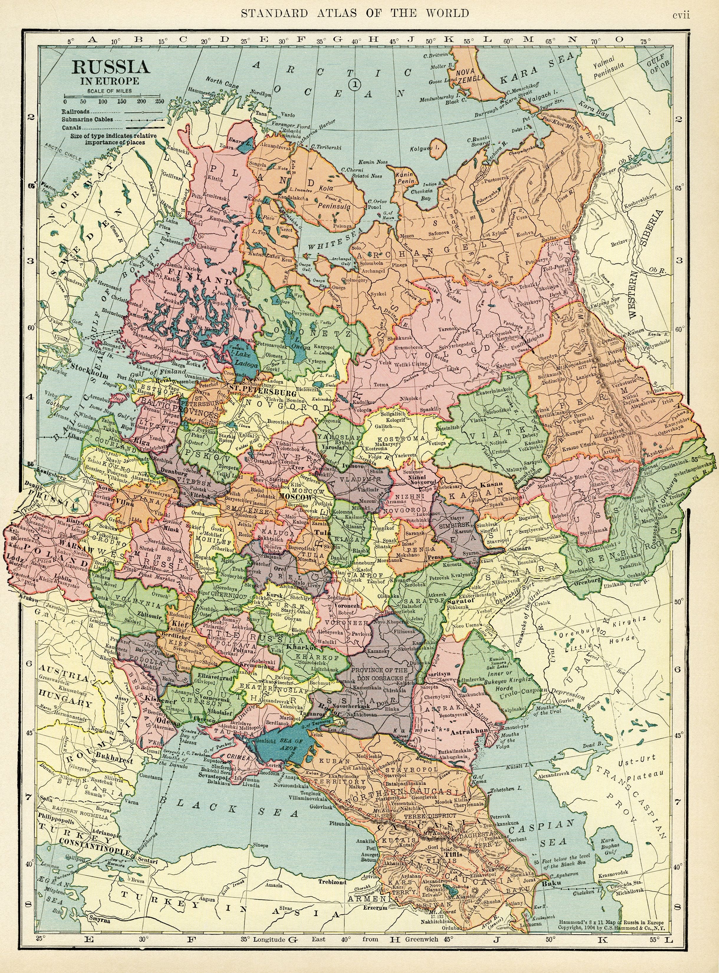 Map Of Russia Free Vintage Image Maps Of The World Russia Map