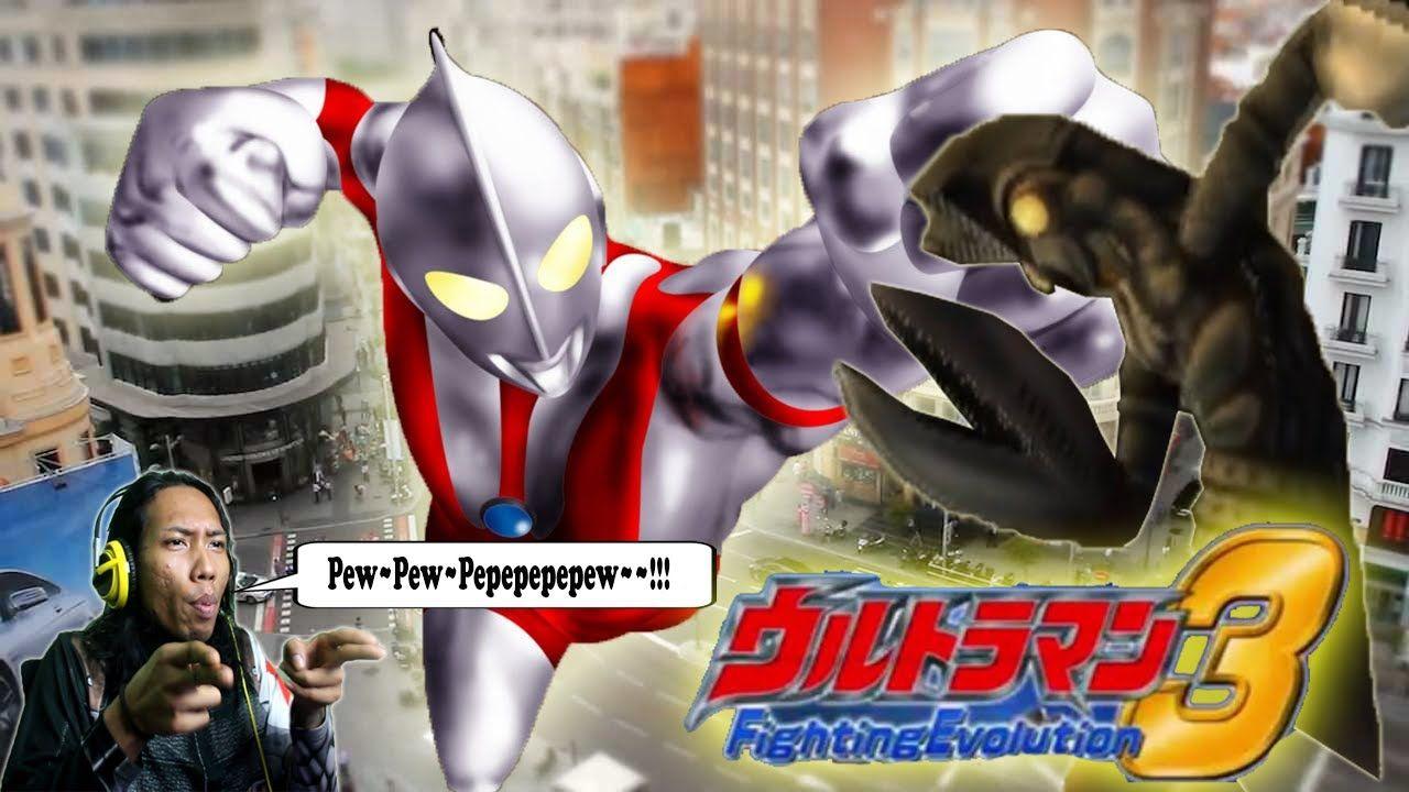 Ultraman Fighting Evolution 3 Momon Time