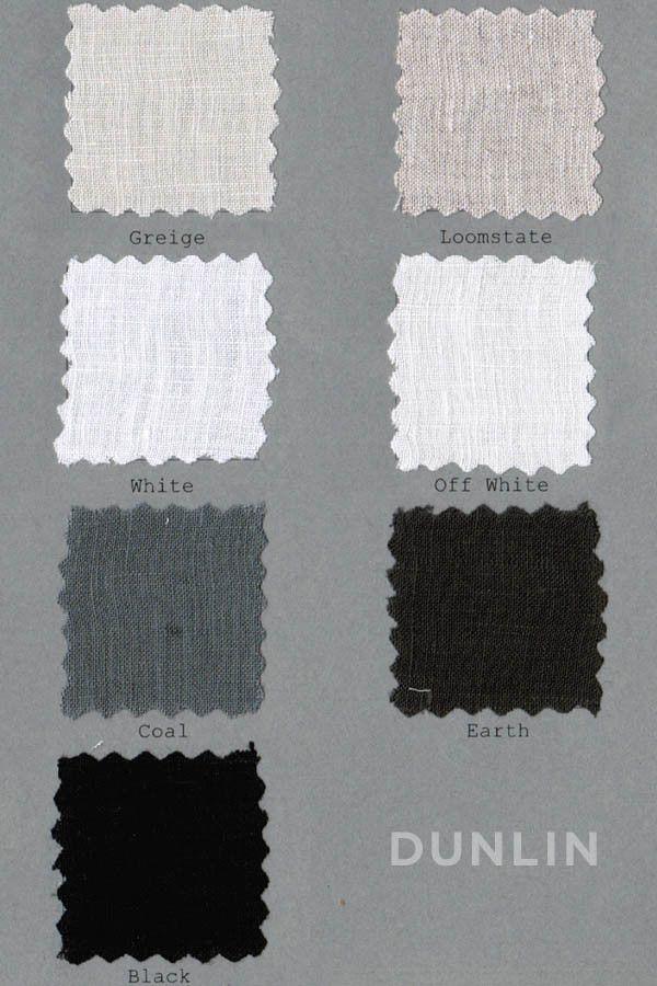 Matteo Vintage Linen Duvet Cover Colors Home Love