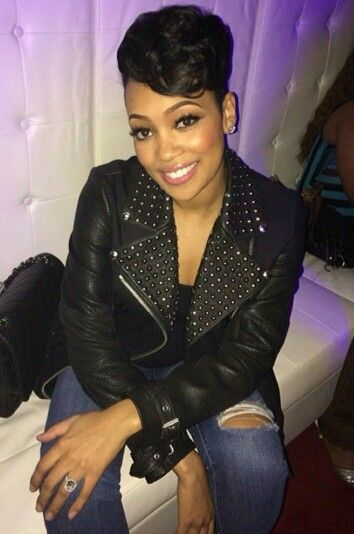 Monica Brown Want A Relationship Like Hers Short Hair Styles Hair Styles Celebrity Hairstyles