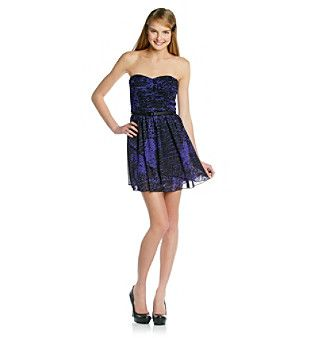 Cheetah Print Formal Dress for Juniors