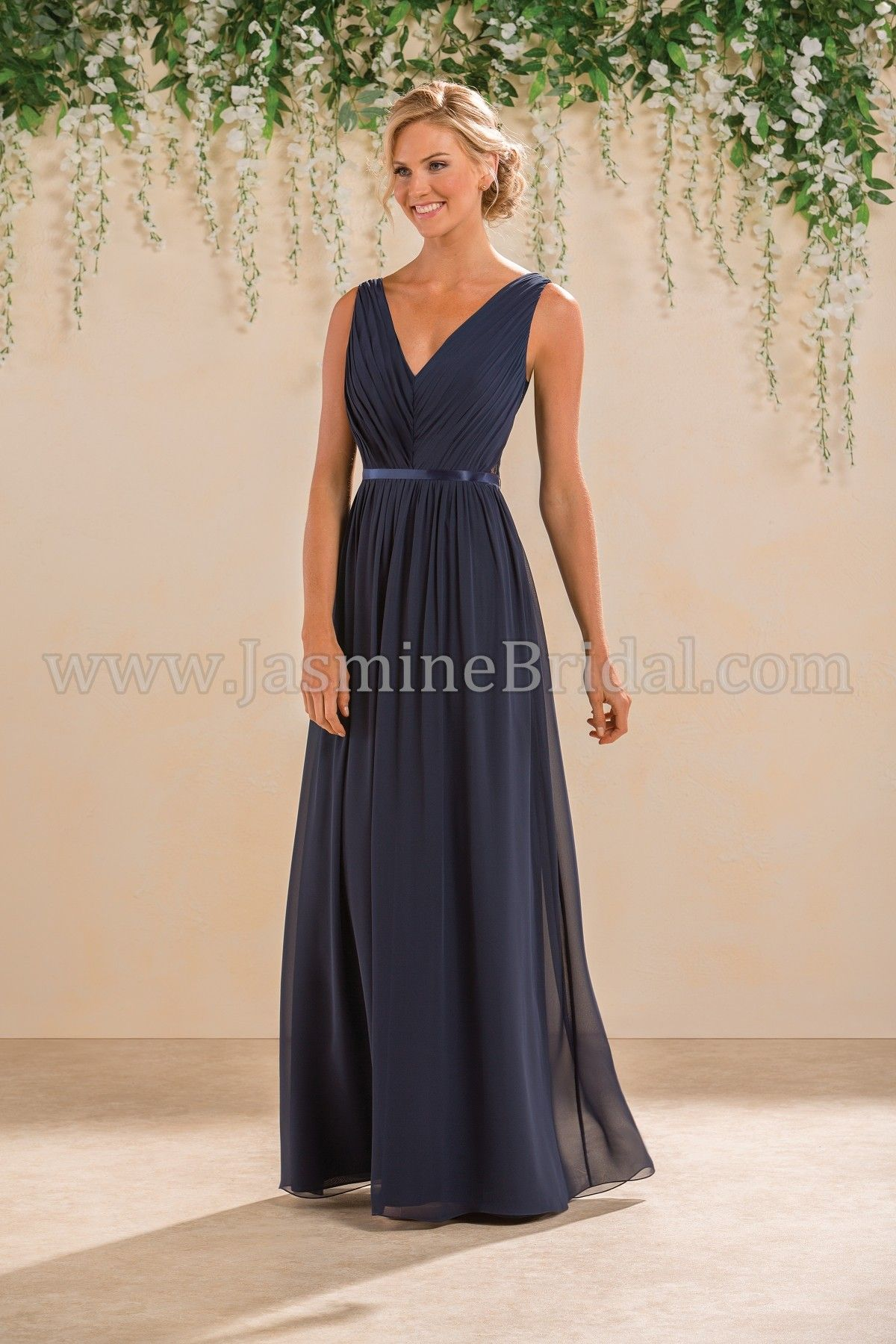 Jasmine bridal bridesmaid dress b2 style b183009 in tahiti blue jasmine bridal bridesmaid dress b2 style b183014 in cayman blue navy ombrellifo Image collections