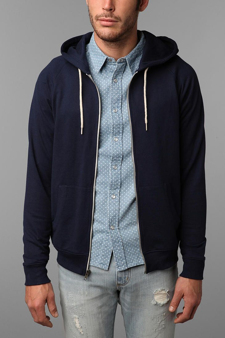 BDG Gym Raglan Zip Hooded Sweatshirt | Products, Sweatshirts and ...