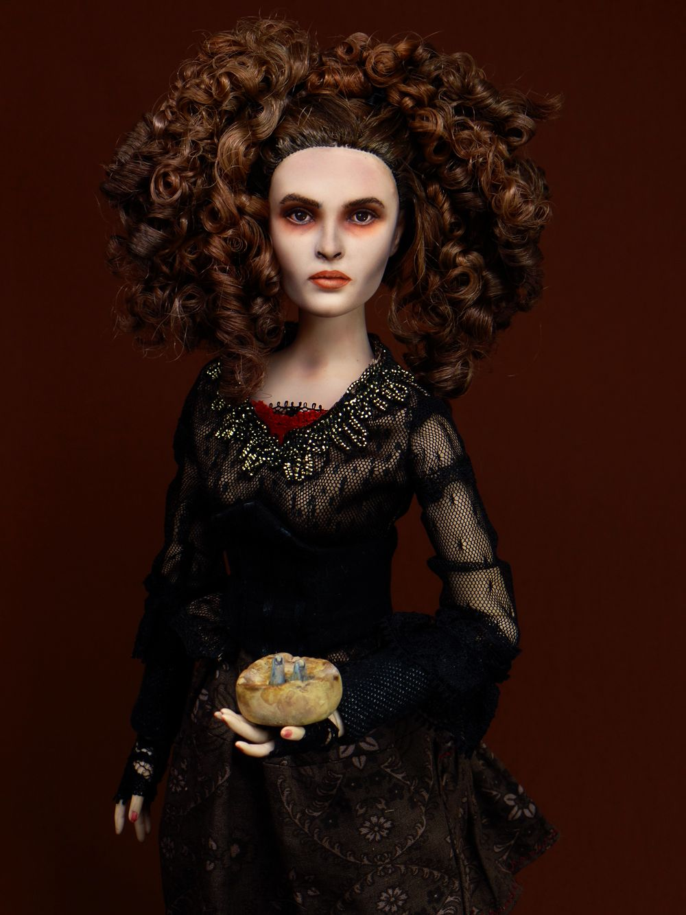 Sweeney Todd The Butcher Of Fleet Street Custom Tonner Doll Mrs Lovett By Laurie Leigh Costume By Morgan May Sweeney Todd Fleet Street Laurie