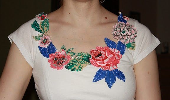 DIY adorable shirt that takes inspiration from Anthropologie