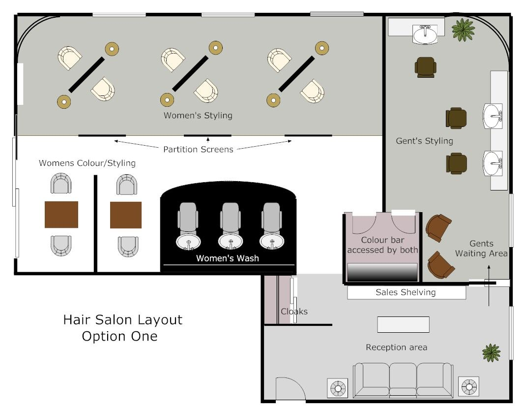 Hair Salon Concept | Hair dressing, Hallways and Hair salons