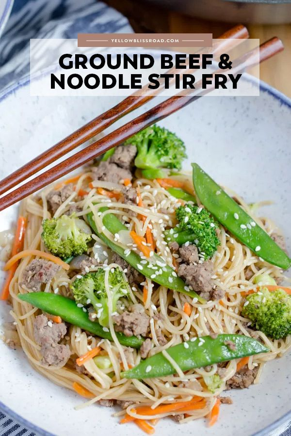 Ground Beef & Noodles Stir Fry images