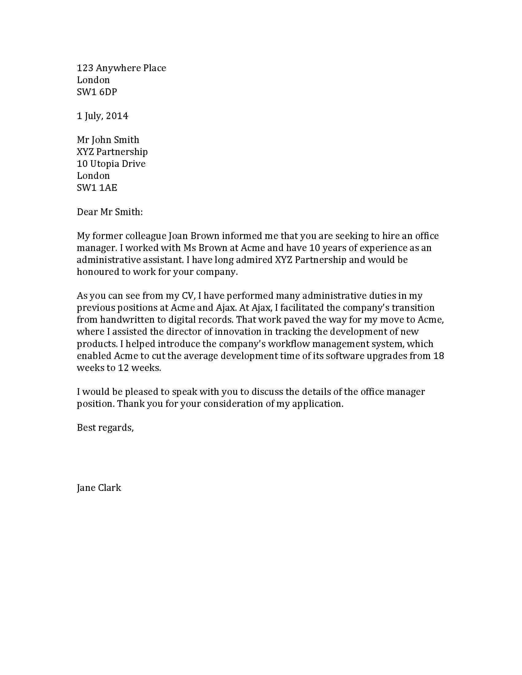 Letter Formats Block, Modified Block in 2020 Letter