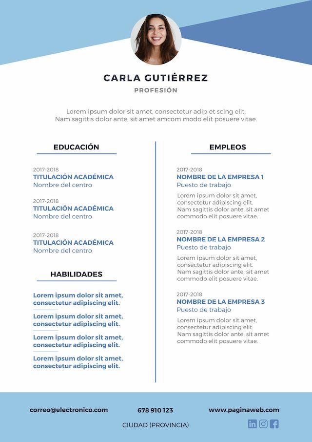 Plantilla D Curriculun : plantilla, curriculun, Plantillas, Currículum, Descargar, Gratis, Curriculum,, Curriculum, Gratis,, Plantilla, Vitae