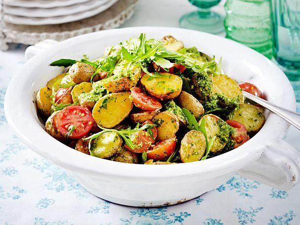 mit Rucolapesto   - Einfach Malene-#chickensalad
