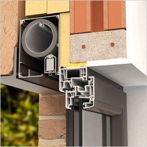 store enrouleur ext rieur fixscreen le premier store vertical r sistant au vent et pare. Black Bedroom Furniture Sets. Home Design Ideas