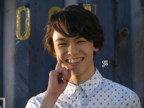 Hansol Look At His Braces Vernon Seventeen Seventeen Seventeen Kpop