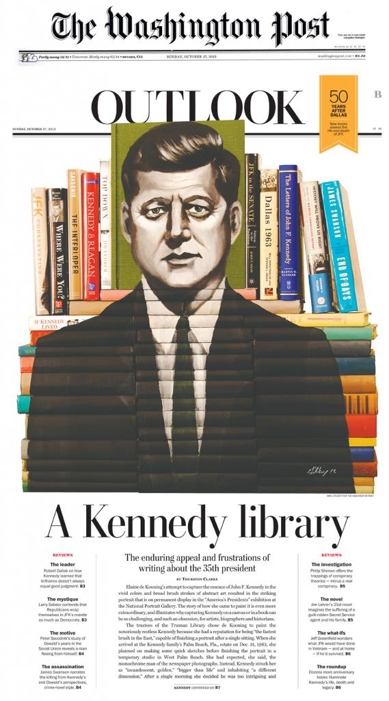 Mike Stilkey, A Kennedy library