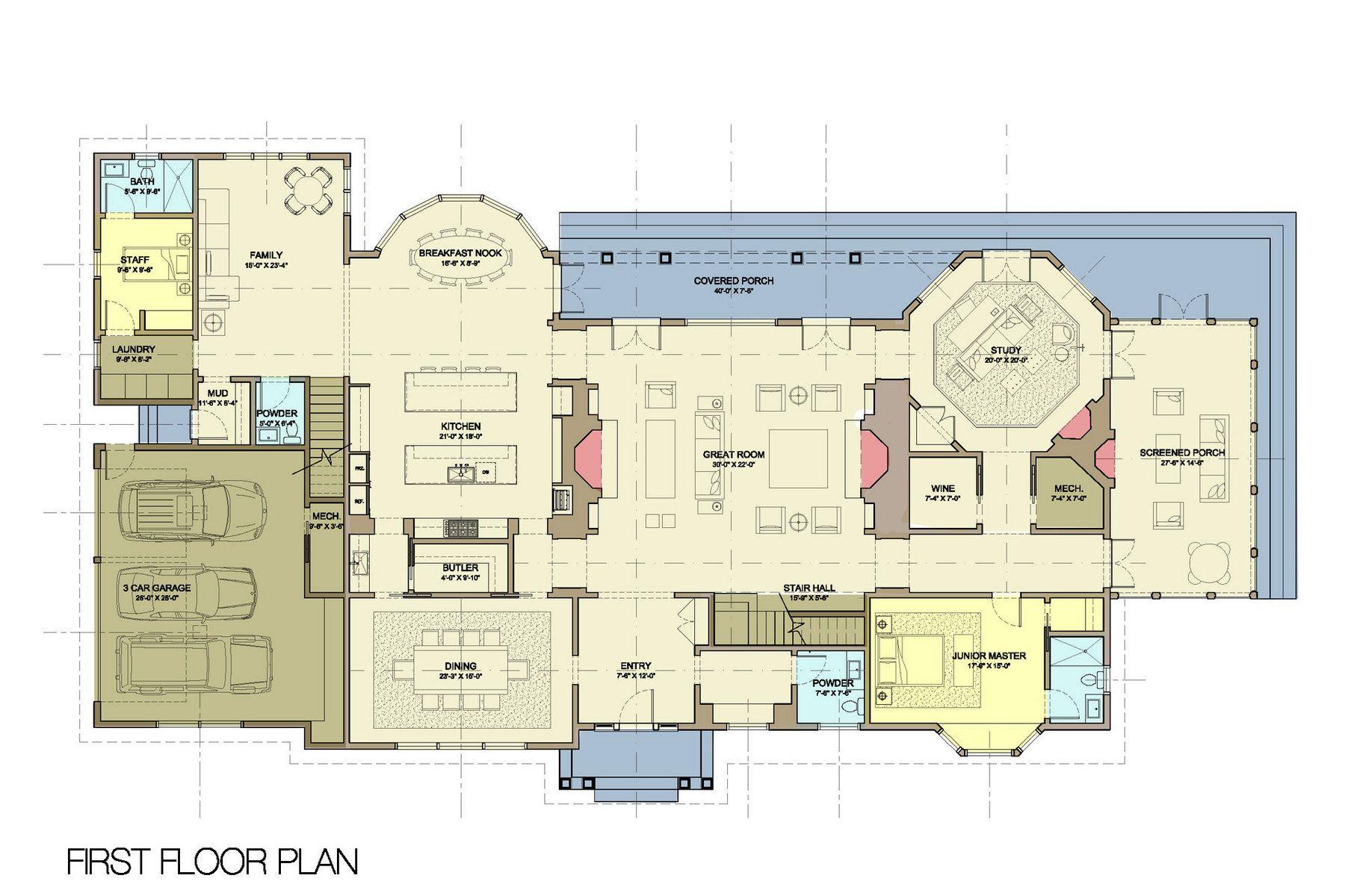 24 Gin Lane Southampton Ny Hamptons Real Estate Bespoke Real Estate Luxury Floor Plans The Hamptons House Drawing