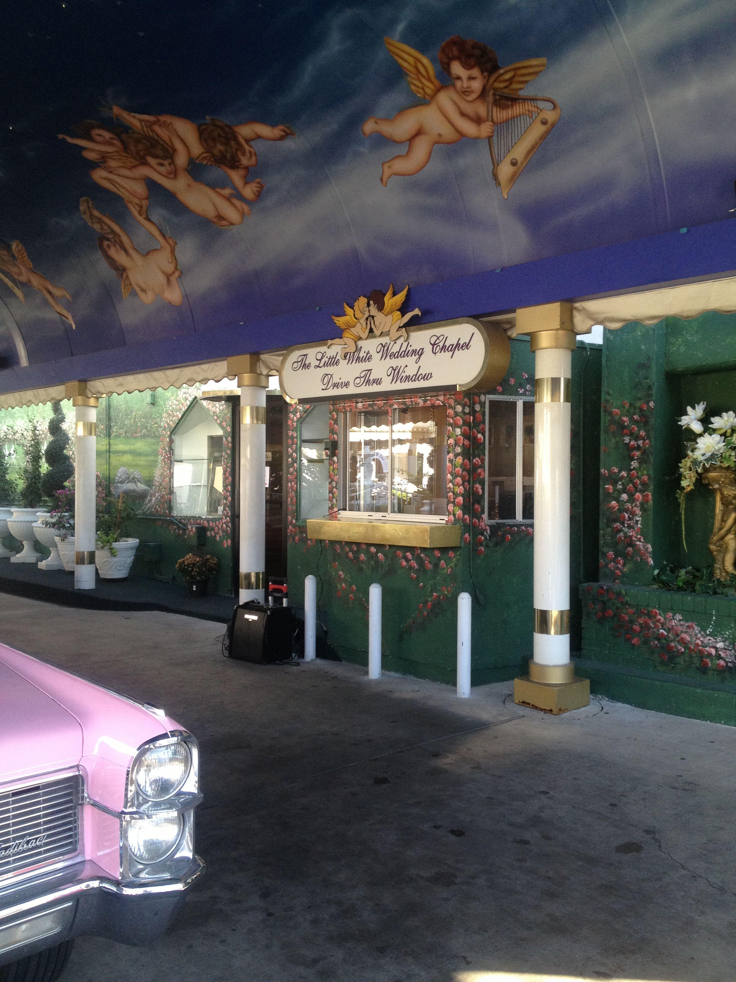 Drive thru wedding chapel Las Vegas Drive