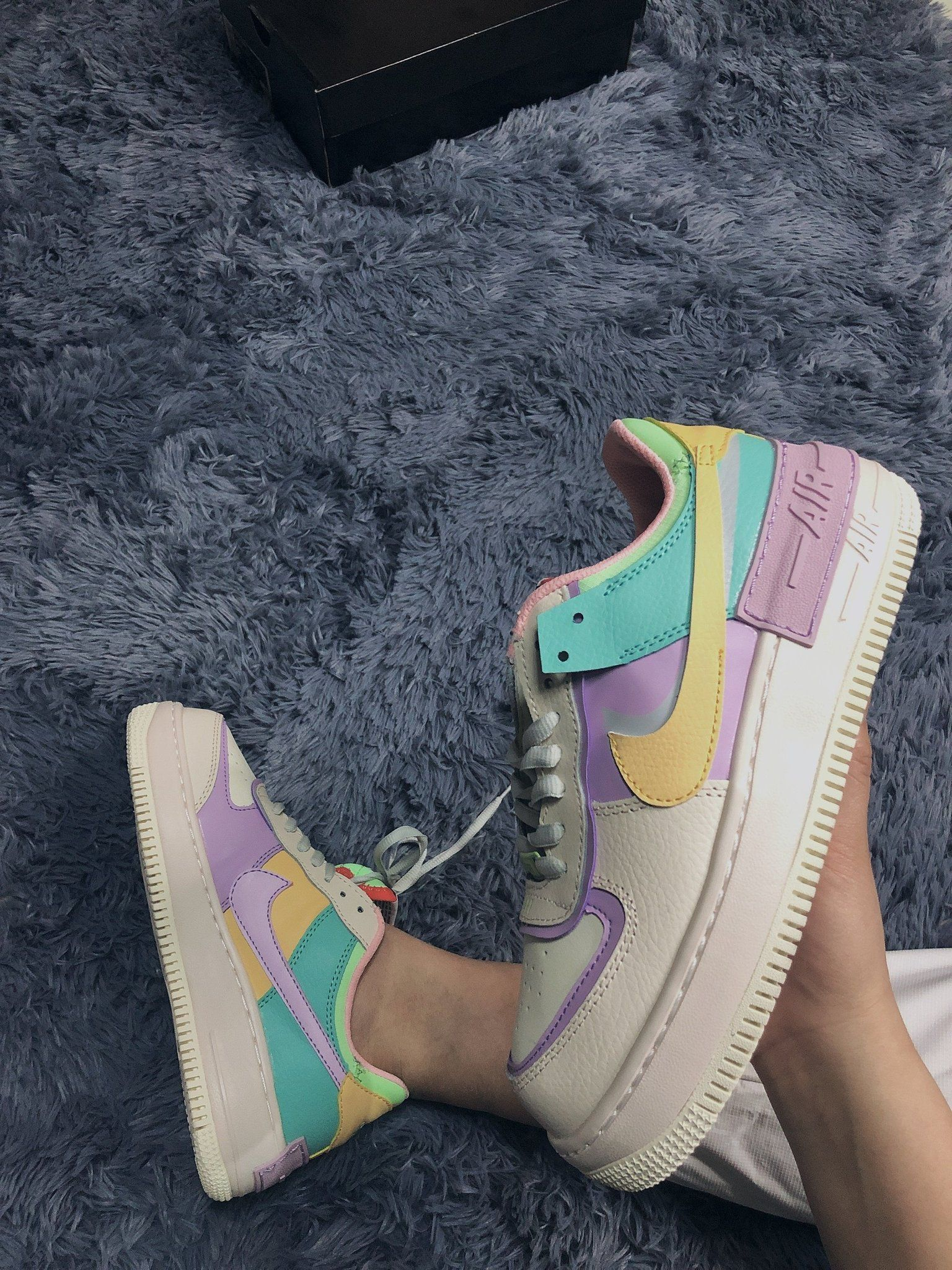 Nike Wmns Air Force 1 Shadow 'Pale Ivory' CI0919 101 in