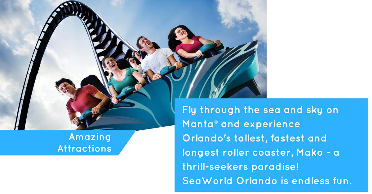 Attractions at SeaWorld
