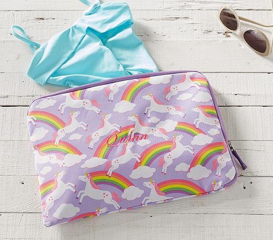 Mackenzie Summer Unicorn Wet Dry Bag Bags Pottery Barn