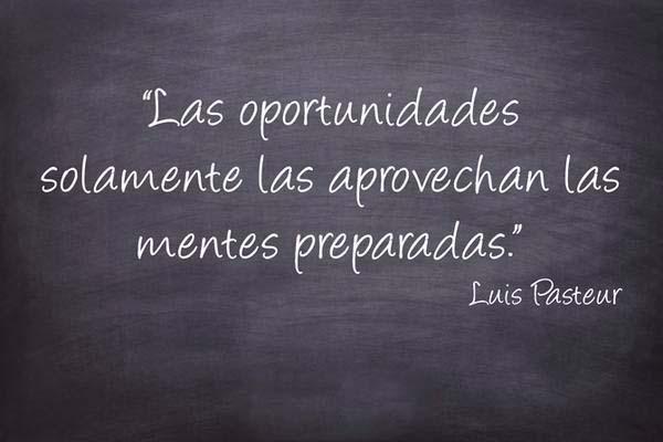 Busca las oportunidades.
