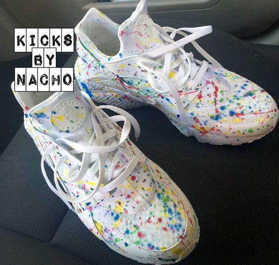Custom gumball nike huarache any size brand new by nachokicks