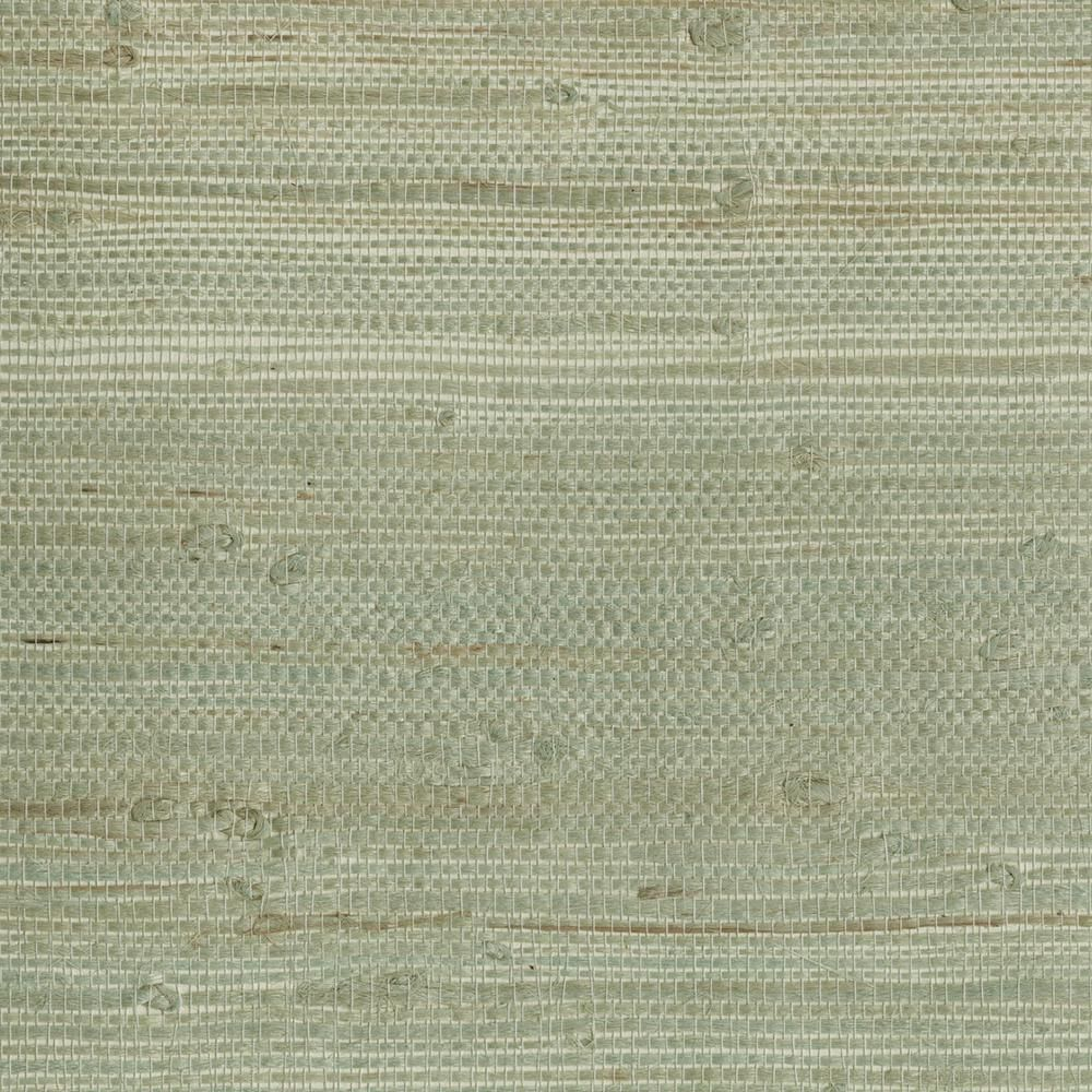Trend Alert Grasscloth Wallpaper: 72 Sq. Ft. Myogen Golden Green Grasscloth Wallpaper