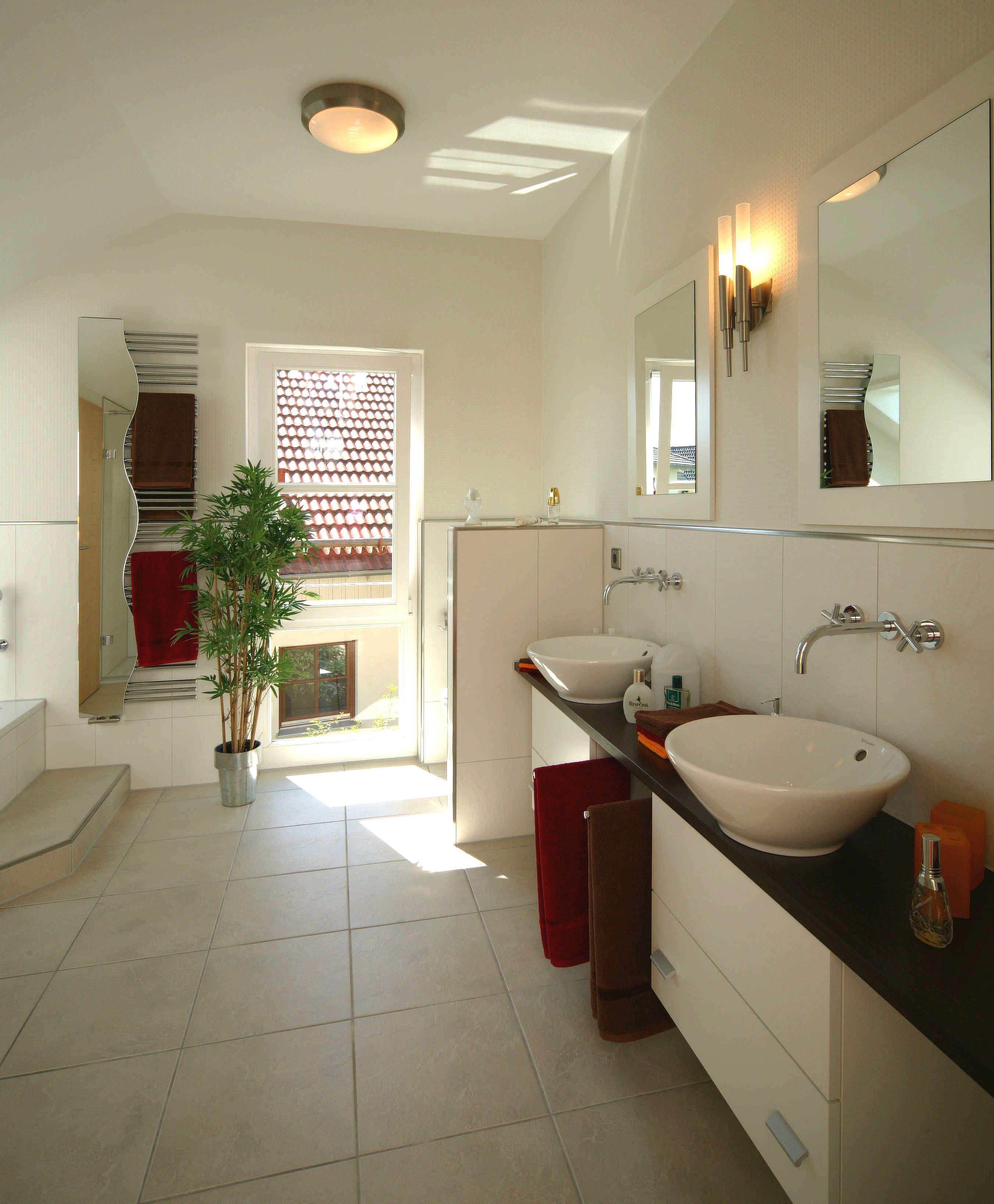 Musterhaus badezimmer  Badezimmer - bathroom - Fertighaus WEISS - Bavaria | Musterhaus ...