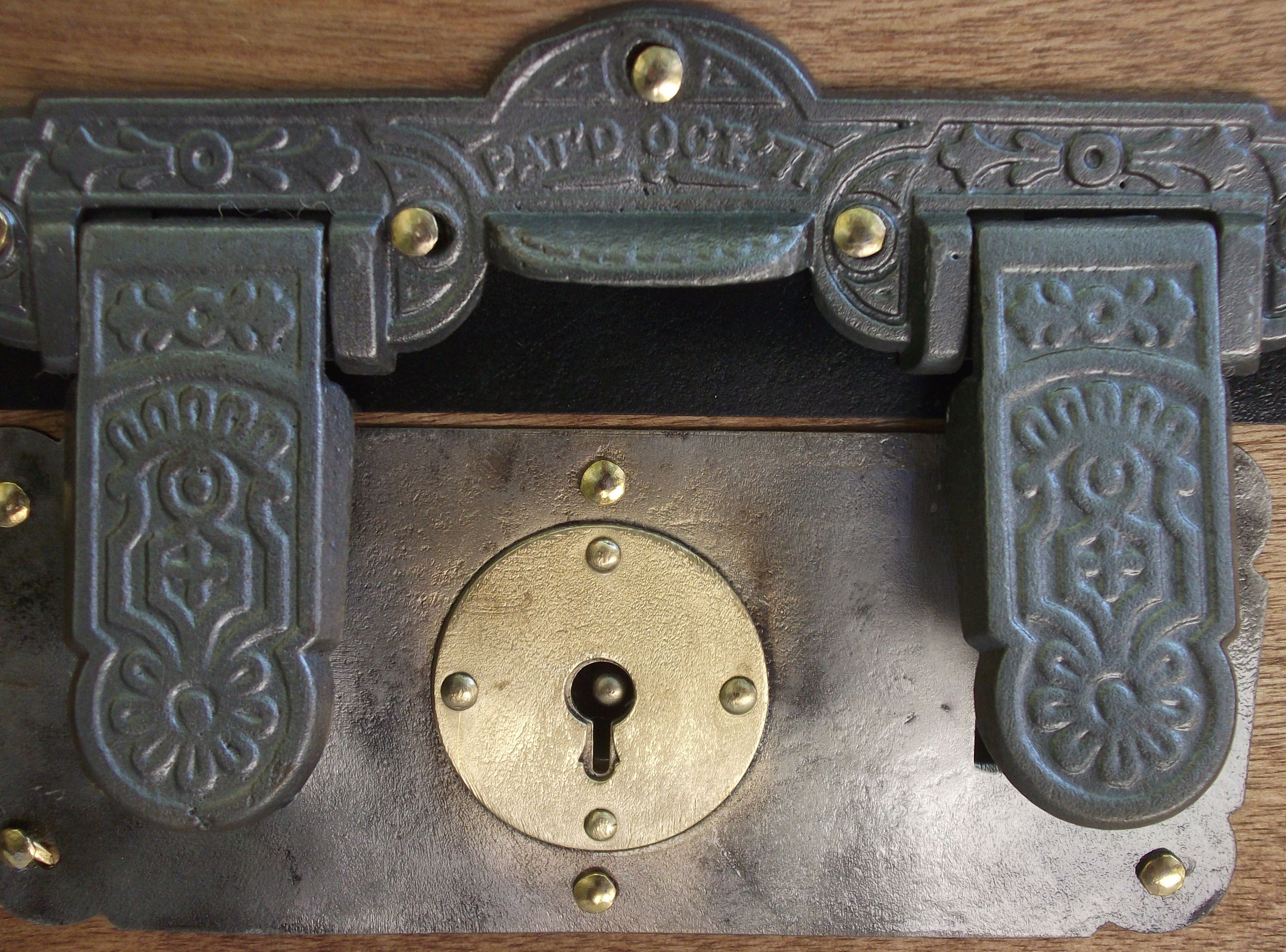 Antique Trunk Lock