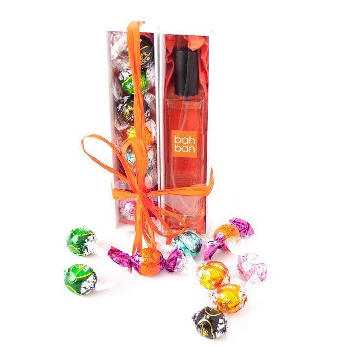 Comencemos el día con perfume y unos bombones. Bahban & Lindtt. El regalo perfecto. #bahbanppl by bahban