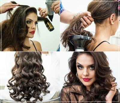 Cara Curly Yang Benar Gaya Rambut Tatanan Rambut Rambut