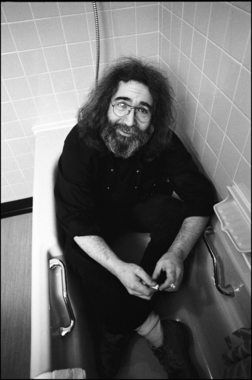 """Grateful Dead In case anyone ever searches on """"Jerry Garcia in a bathtub,"""" here ya go. 1981."""